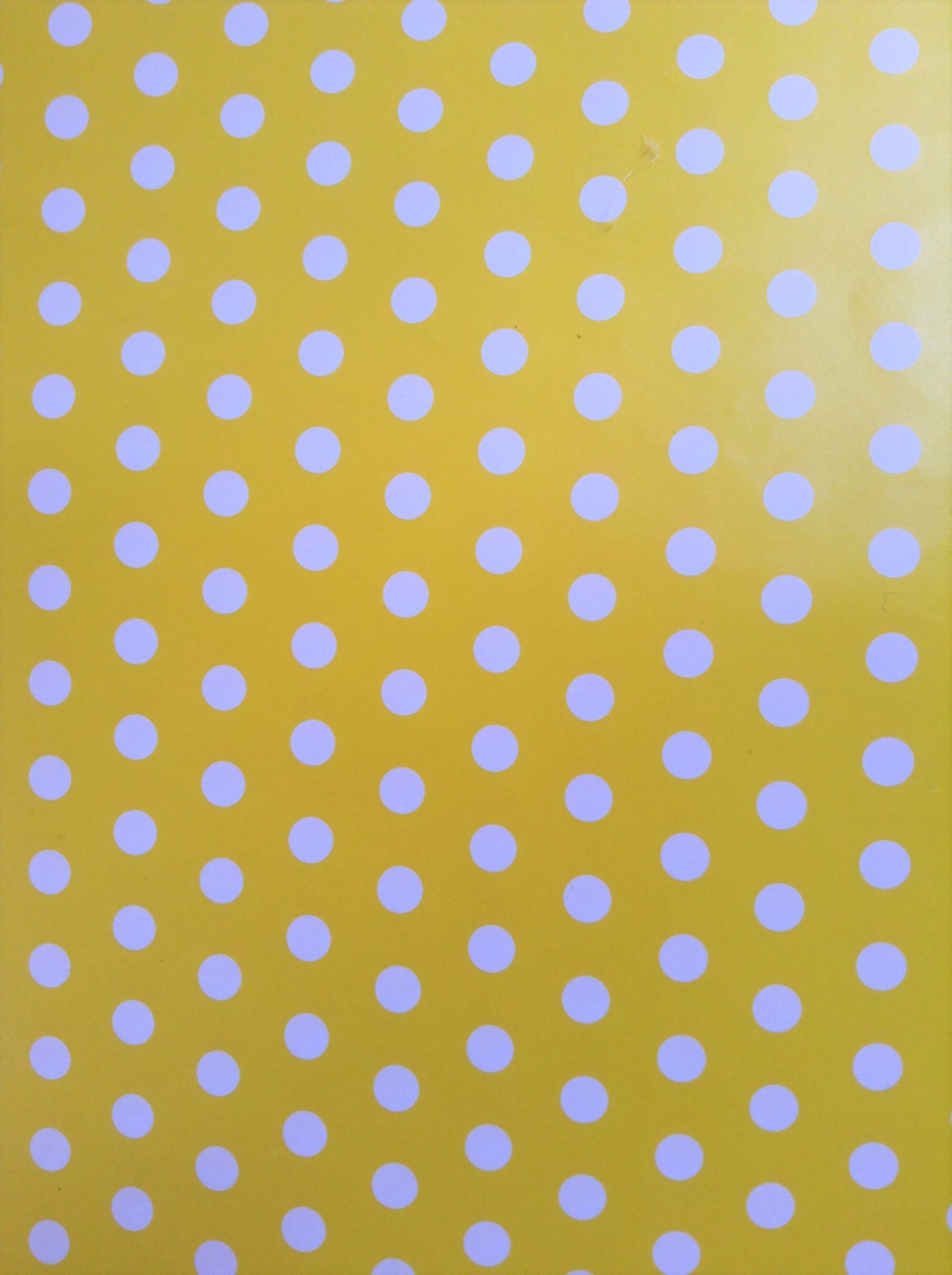 Polka amarillo