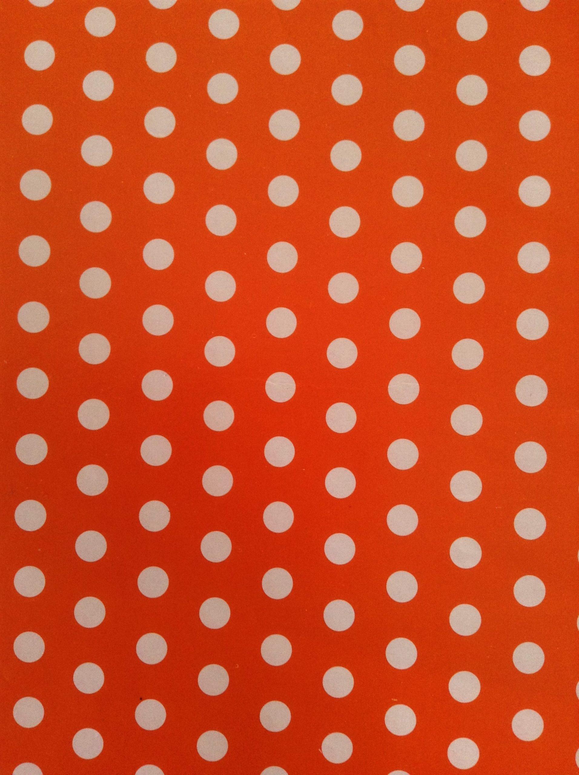 Polka anaranjado