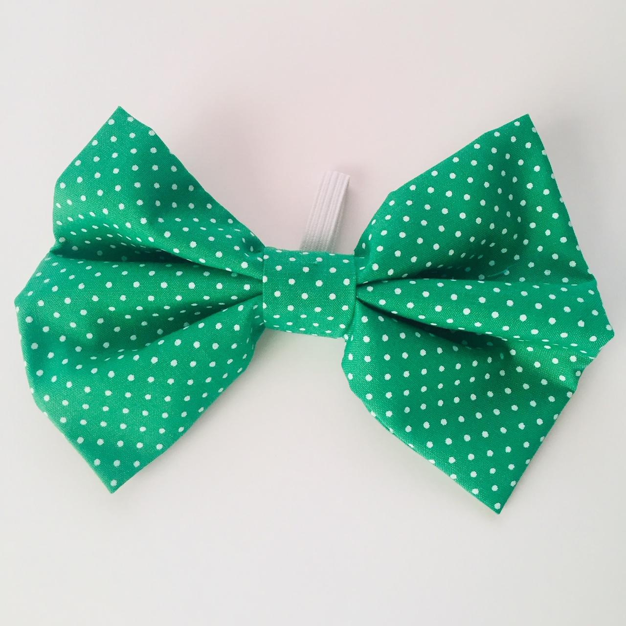 Corbatín Verde puntos blancos (talla M agotada)