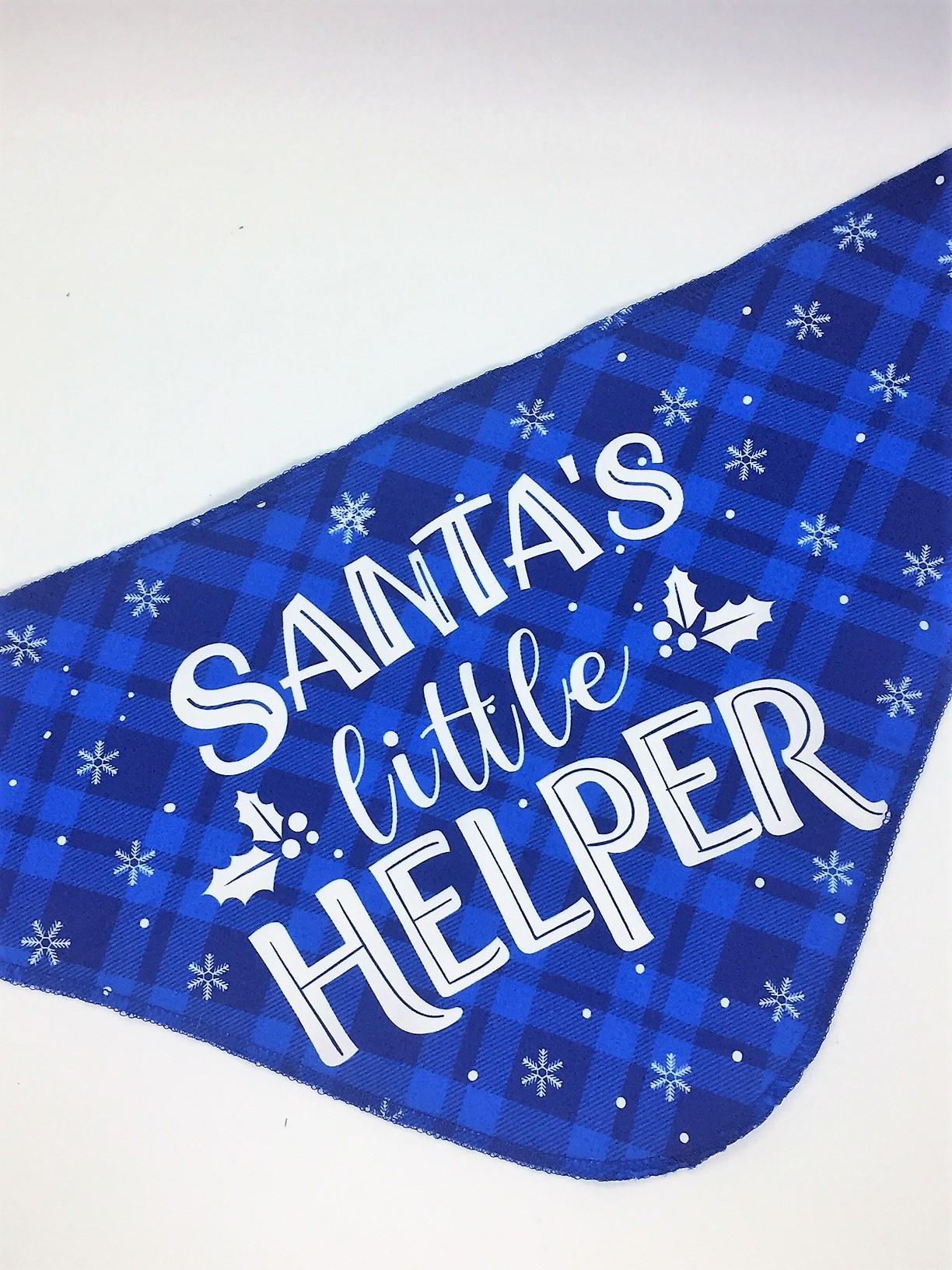 Santa's little helper azul (Únicamente talla M y L)
